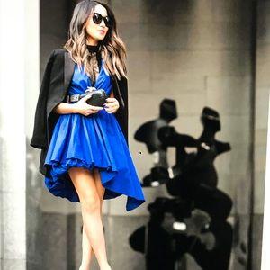 MLM wrap billow dress
